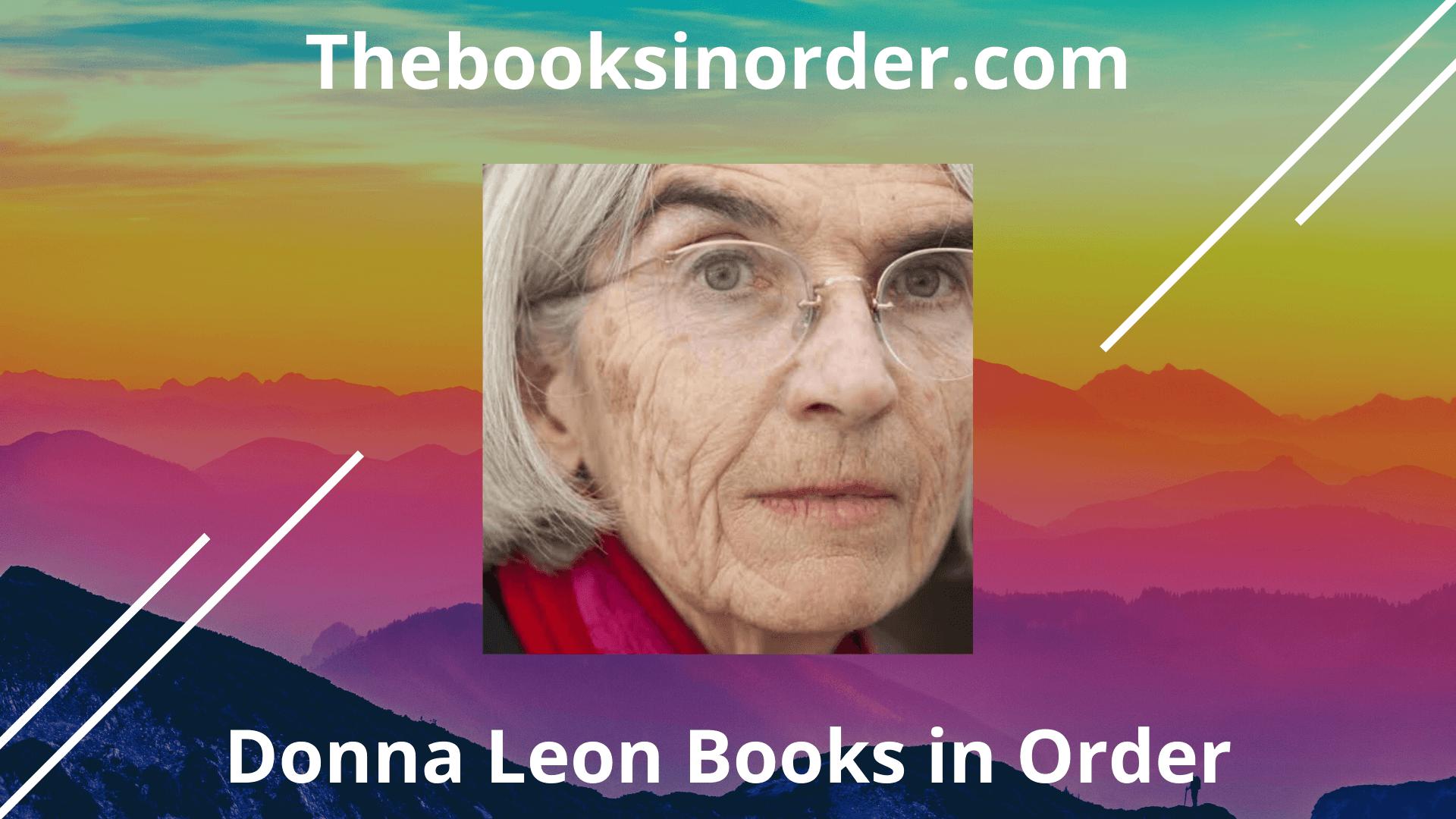donna leon books, donna leon books in order, donna leon brunetti books in order, donna leon in order