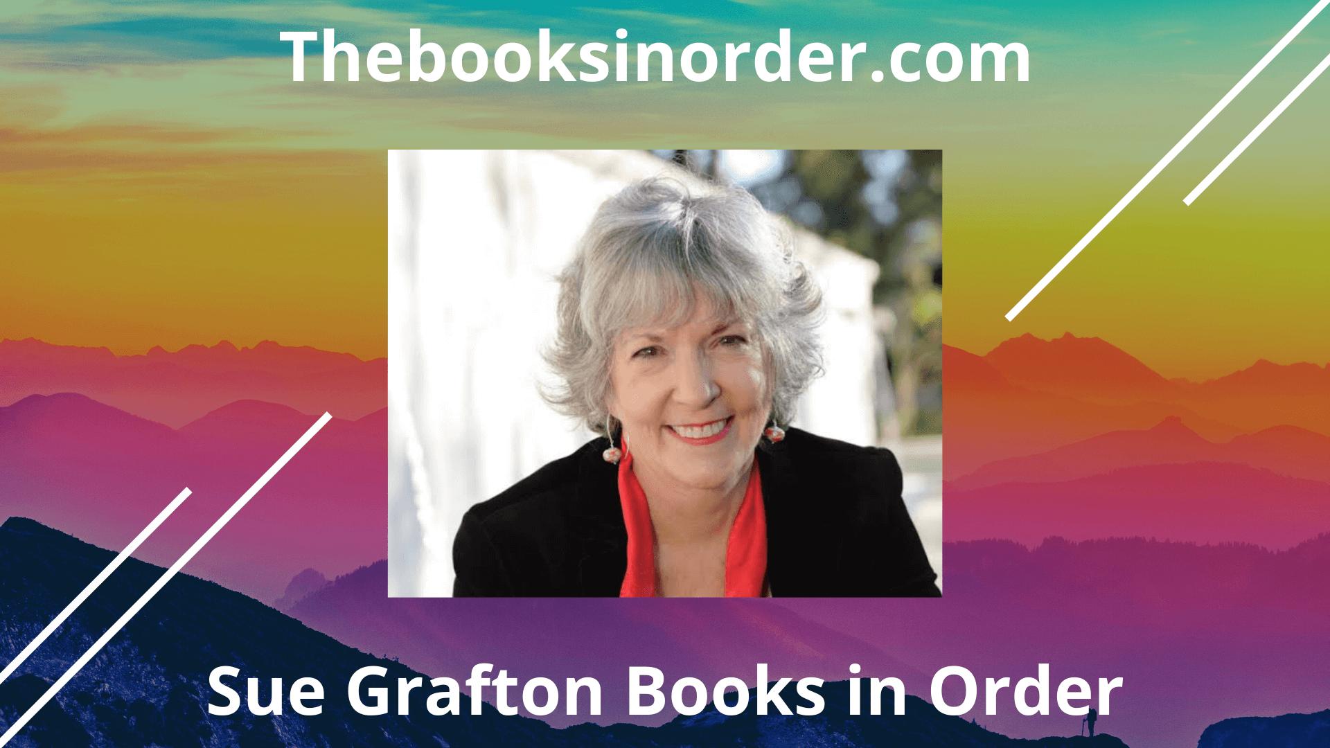 sue grafton books, sue grafton books in order